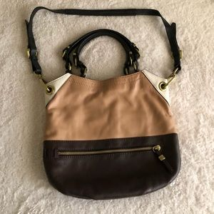 orYANY Sydney Leather hobo colorblock